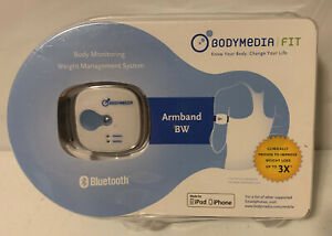 Bodymedia Fit Armband Monitering Weight Management System Bluetooth iPhone A500