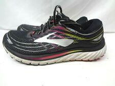 Brooks Glycerin 15 1202471B088 Black Running Shoes Lace Up Women's Size 9.5 B