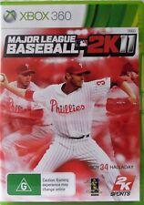 Major League Baseball MLB 2K11 Microsoft Xbox 360