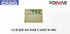 ORIGINAL LCD QW-643 NOS FOR CASIO W-50U