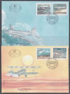 Yugoslavia, 1995, Aviation History, Aircraft, FDC