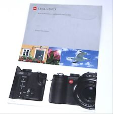 Leica V-Lux 1 Digital Camera Leaflet / Flyer - 1 Page (Double Sided)