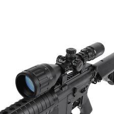 Tactical Dual Illuminated 3-9x50AOL Red/Green Reticle Mil Dot Scope Optics Sight