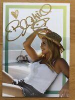 Beatrice Egli AK Wohlfühl-Garantie Autogrammkarte original signiert