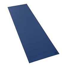 """Warrior by Natural Fitness Yoga Mat, Extra Long, 24"""" x 80"""", Midnight Blue"""