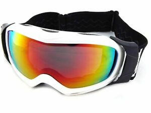 DIRTY DOG VAMPIRE 54130 SMALL SNOW GOGGLES GREY-GREY FLASH MIRROR EX DISPLAY