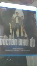 Doctor Who   a town called mercy, asylum  daleks, dinosaurs on spaceship BLU RAY
