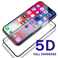 5D  Screen Protector Tempered Glass Film Protective For Apple iPhone XS Max XR