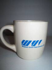 Vintage Western Union International Inc Mug Coffee Cup Made In USA