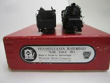 Brass Pennsylvania RR #9862 N1s #2-10-2 HO With Original Box -  Factory Painted?
