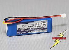Turnigy 1600Mah 2S 7.4v 20C - 30C Lipo Battery Pack - Losi Mini Compatible