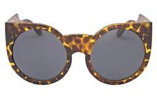 Oversized Cat Eye Sunglasses Celebrity Big Bold Round Frame Eyewear Tortoiseshell