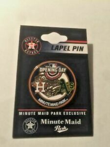 2021 Opening Day Houston Astros vs Oakland A's Athletics Pin