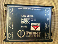 Palmer Audio Tools Line Level Merger PMBL transformer isolated