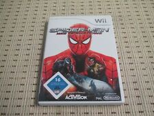 SPIDER-MAN WEB OF SHADOWS per Nintendo Wii e Wii U * OVP *