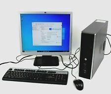 Hp Desktop Computer Tower Pentium 4Gb Ram 250Gb Hd WiFi Windows 10 w/ Monitor