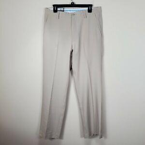 FootJoy khaki NWT Performance pants Golf zip fly pockets mens 33 x 32