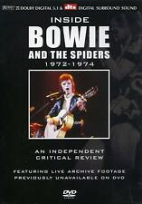 Inside David Bowie and the Spiders Vol. 2 1972-1974 DVD Brand New & Sealed DR-10