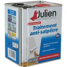 TRAITEMENT ANTI SALPETRE JULIEN 2.5L actif puissant contre humidité salpêtre