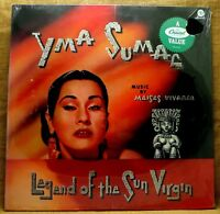SEALED EXOTICA SPACE AGE LP: YMA SUMAC LEGEND OF THE SUN GOD RE Capitol SM-299