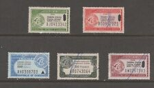 Africa France Cameroun revenue fiscal stamp 2-22-21-1a used as seen