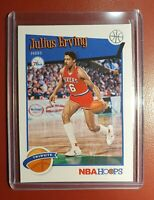 2019-20 NBA 🏀 PANINI HOOPS JULIUS ERVING TRIBUTE for the 76ERS in Perfect Cond.