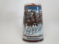 Anheuser-Busch, Inc. 1989 Collector's Series Clydesdales Budweiser Beer Stein