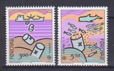 FAROE ISLANDS, EUROPA CEPT 1986, NATURE & ART, MNH