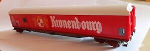 Wagon couvert KRONENBOURG JOUEF circuits trains électriques HO  cm