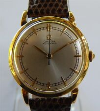 Omega Automatic Wind Watch - Ω28.10 RA SC PC - 18K Solid Gold Case