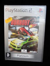 Burnoutt 2 point of impact para playstation 2