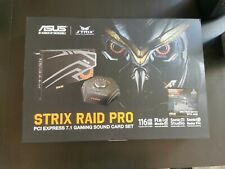 Asus Strix RAID Pro  Soundkarte, PCI express 7.1 mit externer Box in OVP