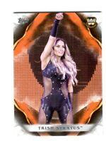 WWE Trish Stratus #90 2019 Topps Undisputed Orange Parallel Card SN 67 of 99