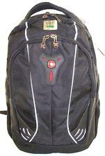 NEW SwissGear by Wenger Jupiter Computer Backpack    Black/Grey    w/Logo