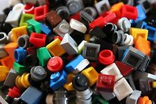 Lego 200 Stück 1x1 Kleinteile viele Formen und Farben nicht transparent Mosaik