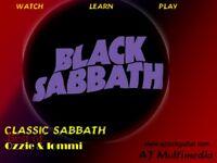 Custom Guitar Lessons, Learn Black Sabbath Classics - DVD Video