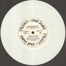 """TYGERS OF PAN TANG Rendezvous  7"""" White Vinyl, Orig 1982 Ltd Edition Nwobhm Sing"""