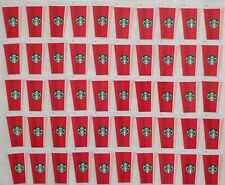 2018 STARBUCKS HOLIDAYS GIFT CARDS~CHRISTMAS ORNAMENTS DIE CUTS~NO VALUE LOT 50