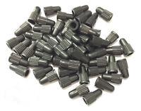 lot Bouchon Capuchon valve d'air plastique noir presta pour Auto Moto Vélo bmx