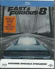 Fast and furious 8. Day ed. (2017) s.e. Blu Ray metal box