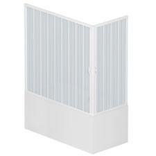 Box Vasca a Soffietto Liberte' 70x170 cm in PVC a due lati con apertura angolare