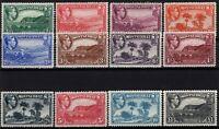 P130651/ BRITISH MONTSERRAT / SG # 101 / 112 MINT MH FULL SET CV 163 $