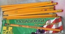 Set of 12 Pencils Pencil jot no 2  Unused In Ticonderoga Box*