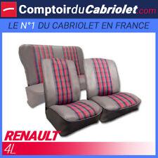Garnitures sièges avant et banquette arrière pour Renault 4L
