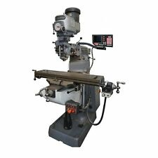 Newall 3 Axis Dro Kit For Bridgeport Mill 42 Btc Quill Ip67 Mill Not Included