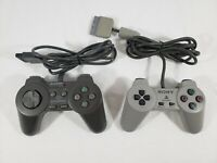 Official OEM Sony Playstation 1 PS1 Gamepad Controller SCPH-1080 - Tested! Lot 2