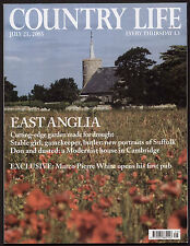 Country Life Jul 2005 HYDE HALL ESSEX 3 CLARKSON RD CAMBRIDGE MARCO PIERRE WHITE