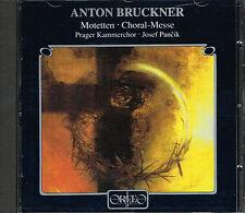 CD album: Anton Bruckner: Motetten. Choral- Messe. Josef Pancik. Orfeo. J