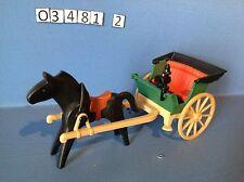 (O3481.2) playmobil fiacre style 1900, cow-boy, western ref 3481