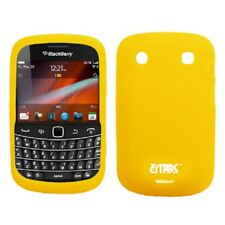 for BlackBerry Bold 9900 Case Silicone Gel Yellow Cover